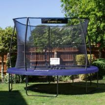 Jumpking JumPOD Deluxe Round 12ft Trampoline Safety Net & Pad