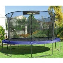 Jumpking JumPOD Deluxe Round 14ft Trampoline Safety Net & Pad