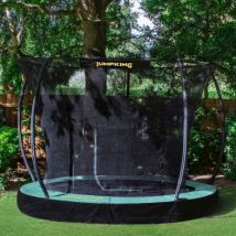 Jumpking Deluxe Round 10ft Trampoline Safety Net & Pad