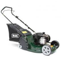 Webb RR17P 43cm Rear-Roller Rotary Petrol Lawn Mower