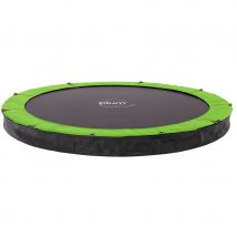 Plum In-Ground Trampoline for DIY Installation with Cover - 12ft Diameter