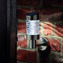 Smart Solar PIR Wave Wall Light
