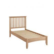 Robert Dyas Golston Light Oak Single Bed Frame