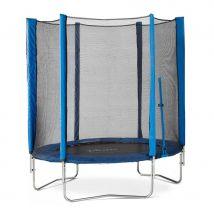 Plum 6ft Junior Trampoline and Enclosure - Blue