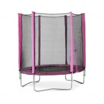 Plum 6ft Junior Trampoline and Enclosure - Pink
