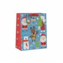 North Pole Gift Bag Large