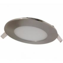 Downlight Dalle Led Extra Plate Ronde Alu 6w