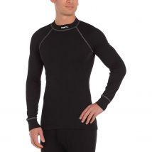 Shirt 194004 Zero Crewneck Men Ls S black print