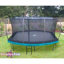 BounceStar Pro 12x15ft Barrel trampoline package