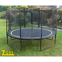 Zone 14ft trampoline package