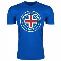 Iceland Core Logo T-Shirt (Blue) - Kids