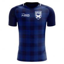 2020-2021 Scotland Tartan Concept Football Shirt - Womens