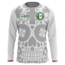 2018-2019 Mexico Long Sleeve Away Concept Football Shirt
