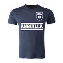 Anguilla Core Football Country T-Shirt (Navy)