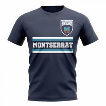 Montserrat Core Football Country T-Shirt (Navy)