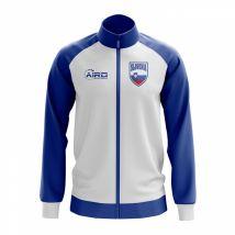 Slovenia Concept Football Track Jacket (White)