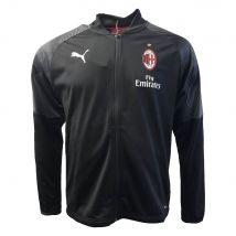 2018-2019 AC Milan Puma Poly Training Jacket (Black)