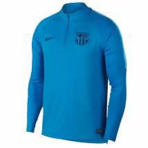 2018-2019 Barcelona Nike Drill Training Top (Equator Blue)