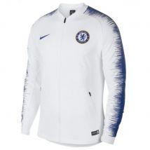 2018-2019 Chelsea Nike Anthem Jacket (White)