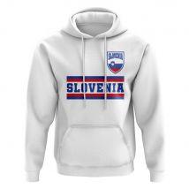 Slovenia Core Football Country Hoody (White)