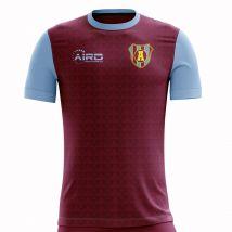 2020-2021 Villa Home Concept Football Shirt