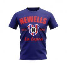 Newells Old Boys Established Football T-Shirt (Navy)