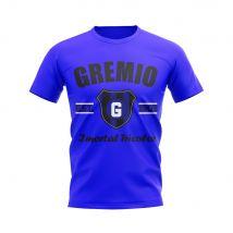 Gremio Established Football T-Shirt (Blue)