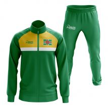 Dominica Concept Football Tracksuit (Green)