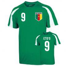 Cameroon Sports Training Jersey (etoo 9) - Kids