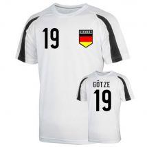 Germany Sports Training Jersey (gotze 19)