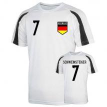 Germany Sports Training Jersey (schweinsteiger 7)