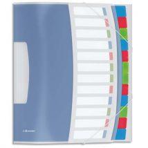 Trieur 12 touches ESSELTE Vivida - multicolore - Lot de 10