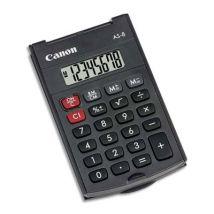 Calculatrice Canon AS-8 - noir