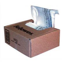 Boîte de 100 sacs FELLOWES pour destructeurs jusqu'à 34 litres : Série 99