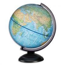 Globe lumineux en kit prêt à monter (avec notice de montage) sphère bleue - diamètre 30 cm