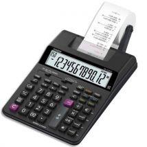 Calculatrice imprimante portable de bureau Casio HR-150 RCE - 12 chiffres - noire