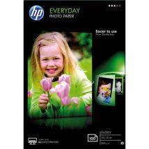 Papier photo HP Everyday CR757A - jet d'encre - brillant - 200g - 10x15 - Pack de 100