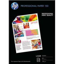 Papier photo professionnel HP CG965A - laser - brillant - 150g - A4 - pack de 150
