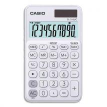 Calculatrice de poche Casio - 10 chiffres - blanche