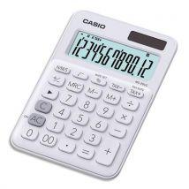 Calculatrice de bureau Casio - 12 chiffres - blanche