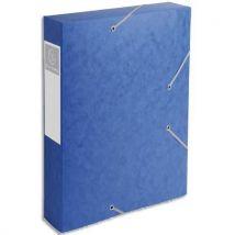 Boîte de classement Cartobox - épaisseur 7 / 10è - dos 60 mm - bleu