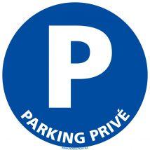 Panneau - parking privé