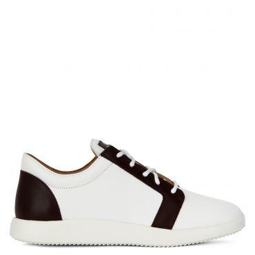 Giuseppe Zanotti ROSS Mens Low top sneakers White