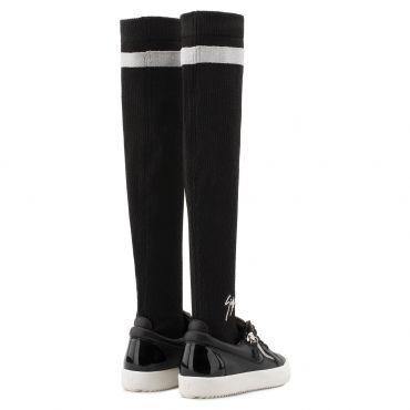 Giuseppe Zanotti GAIL PLUS Womens Low top sneakers Black