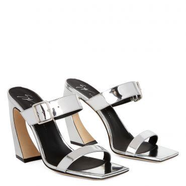 Giuseppe Zanotti MUSA Womens Sandals Silver