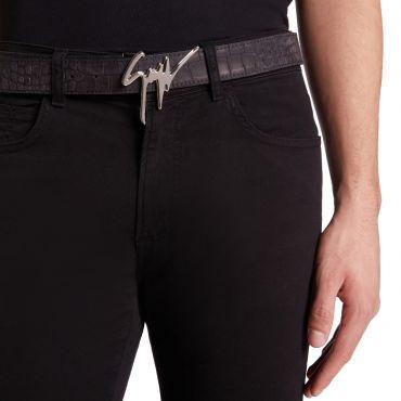 Giuseppe Zanotti GIUSEPPE Mens Belts Black