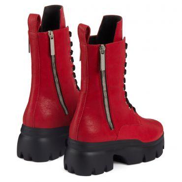 Giuseppe Zanotti APOCALYPSE Womens Boots Red
